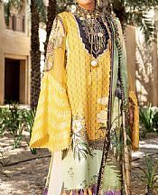 Yellow Lawn Suit- Pakistani Lawn Dress