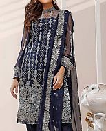 Blue Chiffon Suit- Pakistani Chiffon Dress