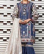 Blue Lawn Suit- Pakistani Lawn Dress