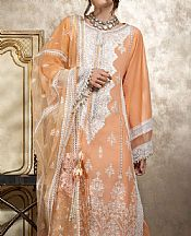 Peach Lawn Suit- Pakistani Lawn Dress