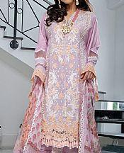 Pastel Pink Lawn Suit- Pakistani Designer Lawn Dress