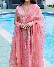Mauvelous Pink Lawn Suit- Pakistani Designer Lawn Dress