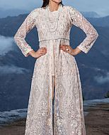 Light Peach Net Suit- Pakistani Chiffon Dress