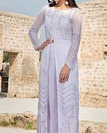 White/Lilac Net Suit