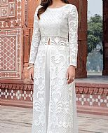 White Net Suit- Pakistani Designer Chiffon Suit