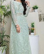 Sea Green Net Suit- Pakistani Chiffon Dress