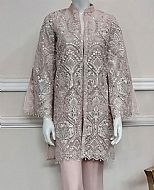 Beige Net Suit- Pakistani Chiffon Dress