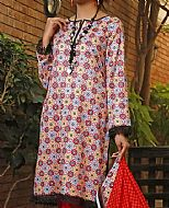 Red Lawn Suit- Pakistani Lawn Dress