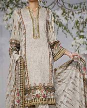 Light Grey Lawn Suit- Pakistani Designer Lawn Dress