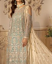 Pistachio Green Chiffon Suit- Pakistani Chiffon Dress