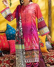 Brink Pink/Magenta Lawn Suit- Pakistani Lawn Dress