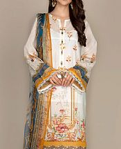 White Lawn Suit- Pakistani Lawn Dress