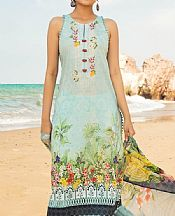 Sky Blue Lawn Suit- Pakistani Lawn Dress