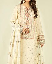 Ivory Lawn Suit- Pakistani Lawn Dress