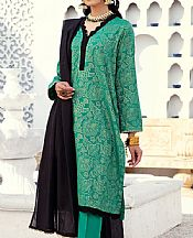 Sea Green Jacquard Suit- Pakistani Designer Lawn Dress
