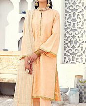 Peach Jacquard Suit- Pakistani Lawn Dress