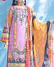 Mauve Lawn Suit- Pakistani Lawn Dress