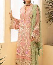 Tea Pink Chiffon Suit- Pakistani Chiffon Dress