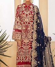 Red Chiffon Suit- Pakistani Chiffon Dress