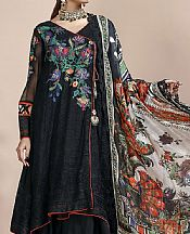 Black Chiffon Suit- Pakistani Chiffon Dress