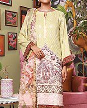 Cream Dobby Suit- Pakistani Designer Lawn Dress