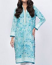 Light Turquoise Lawn Kurti- Pakistani Lawn Dress