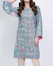 Light Grey Lawn Kurti- Pakistani Lawn Dress