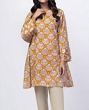 Orange Lawn Kurti- Pakistani Lawn Dress