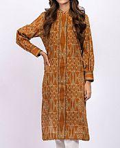 Rust/Tan Khaddar Kurti- Pakistani Winter Clothing