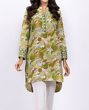 Apple Green Khaddar Kurti- Pakistani Winter Clothing