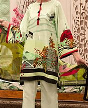 Parrot Green Cambric Suit- Pakistani Winter Clothing