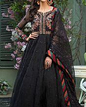 Black Organza Suit- Pakistani Chiffon Dress