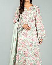Light Green/Baby Pink Karandi Suit- Pakistani Winter Dress