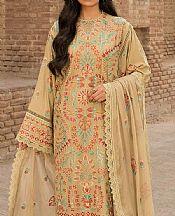 Sand Gold Karandi Suit- Pakistani Winter Clothing