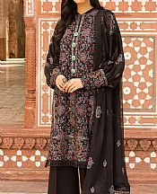 Black Karandi Suit- Pakistani Winter Dress