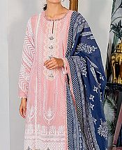 Baby Pink Cambric Suit- Pakistani Lawn Dress