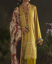 Lime Green Cotton Satin Suit- Pakistani Winter Dress