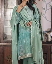 Mint Green Linen Suit- Pakistani Winter Dress