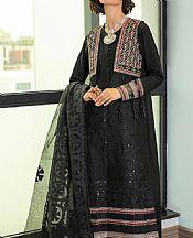 Black Lawn Suit- Pakistani Lawn Dress