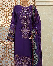 Indigo Linen Suit- Pakistani Winter Clothing