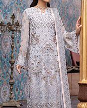 Light Grey Chiffon Suit- Pakistani Chiffon Dress