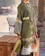 Green Khaddar Suit- Pakistani Winter Clothing