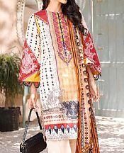 Ivory Cambric Suit- Pakistani Lawn Dress