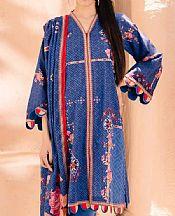 Navy Blue Cambric Suit- Pakistani Lawn Dress
