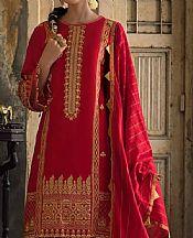 Scarlet Lawn Suit- Pakistani Lawn Dress