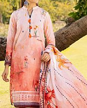Coral Cambric Suit (2 Pcs)- Pakistani Lawn Dress