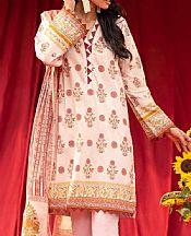 Tea Pink Cambric Suit (2 Pcs)- Pakistani Lawn Dress