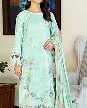 Light Green Swiss Lawn Suit- Pakistani Lawn Dress