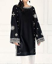 Black Lawn Suit (2 Pcs)- Pakistani Lawn Dress
