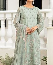 Pistachio Green Massori Suit- Pakistani Designer Chiffon Suit